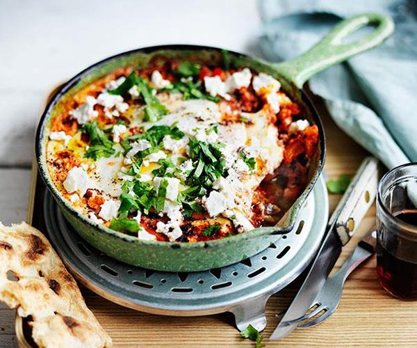 "[Shakshuka](https://www.gourmettraveller.com.au/recipes/fast-recipes/shakshuka-13617|target=""_blank"")"