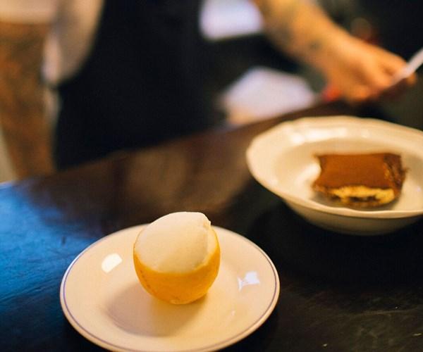 The lemon cup. Photo: Harriet Davidson