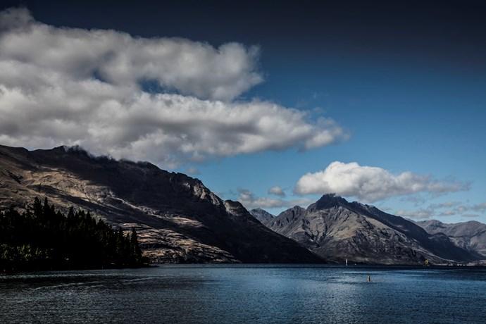 Lake Wakatipu.