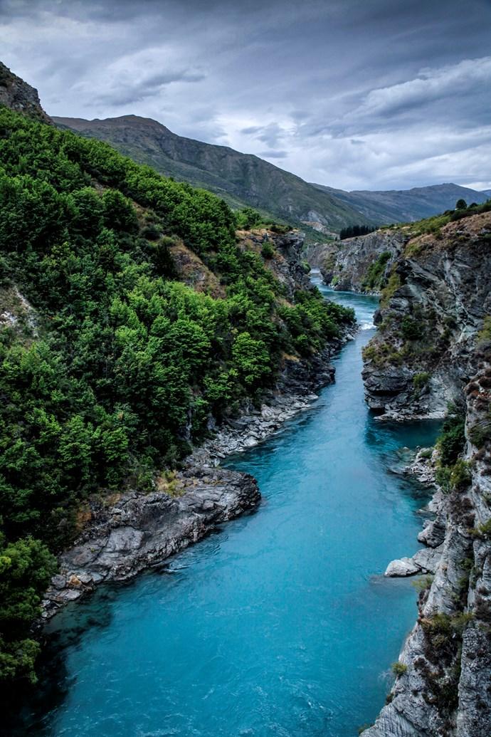The Kawarau River.