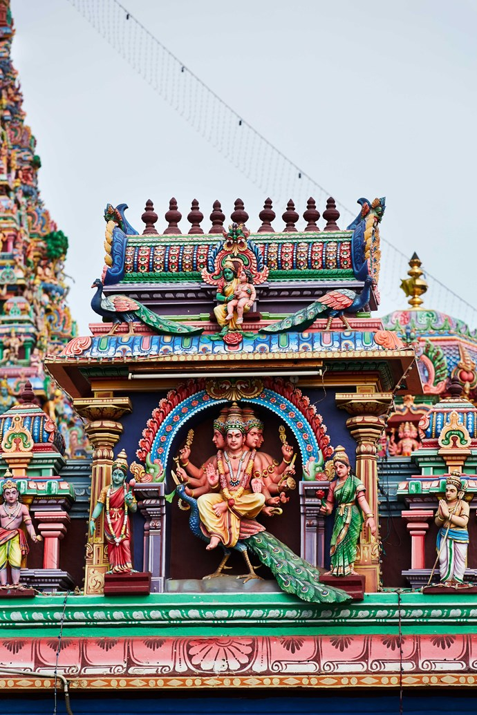 Kapaleeswarar Temple façade at Mylapore, Chennai (Photo: Alicia Taylor)