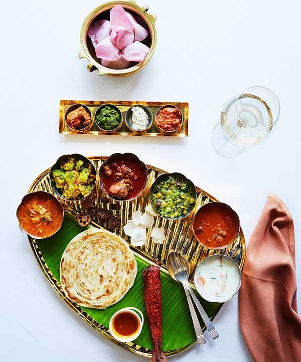 Thali at Taj Coromandel restaurant, Southern Spice (Photo: Alicia Taylor)