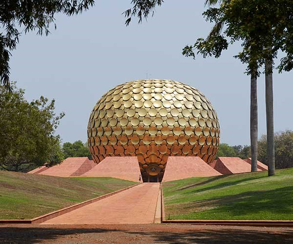The Matrimandir, Auroville (Photo: Alicia Taylor)