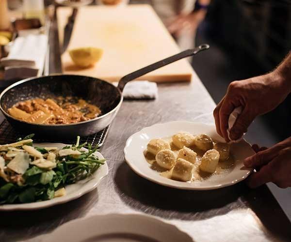 Gnocchi al cacio e pepe (Photo: Daniel Boud)