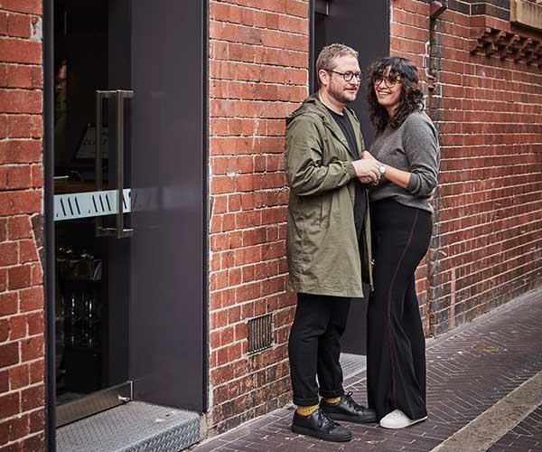 Clayton Wells & Tania Fergusson (Photo: Will Horner)
