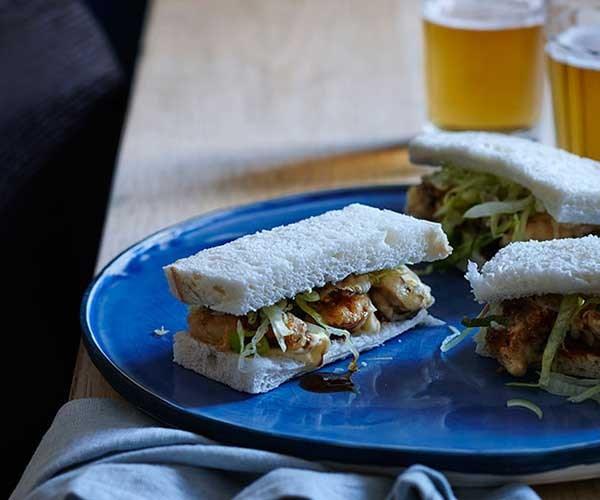"[Oyster katsu sandos](http://www.gourmettraveller.com.au/recipes/fast-recipes/oyster-katsu-sandos-13595|target=""_blank"")"