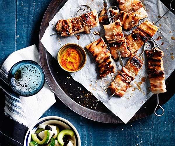 "[Yakiton with shichimi togarashi](http://www.gourmettraveller.com.au/recipes/fast-recipes/yakiton-with-shichimi-togarashi-13657|target=""_blank"")"