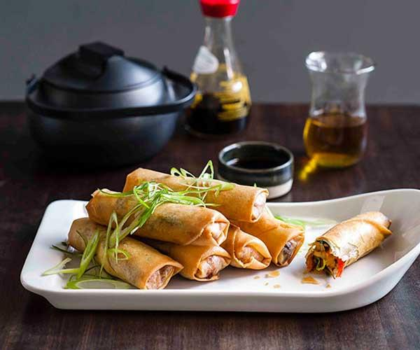 """[Chinese-style spring rolls](https://www.gourmettraveller.com.au/recipes/browse-all/chinese-spring-rolls-8776 target=""""_blank"""")"""