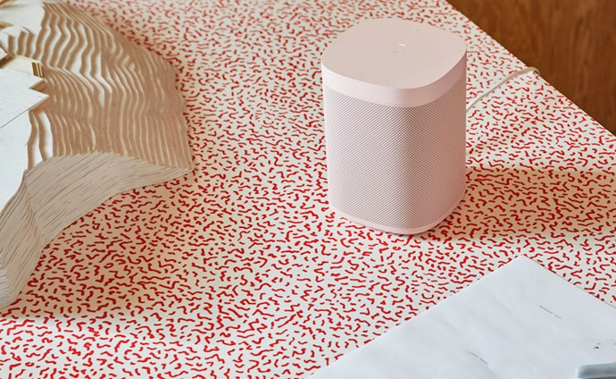 "**HAY Sonos wireless speakers** Love songs get a sleek update this Valentine's Day thanks to the new collaboration between design brand HAY and Sonos home sound systems. These compact speakers connect via wireless (not Bluetooth), and are available in five colours. [sonos.com](https://www.sonos.com/en-au/shop/hay-sonos-one-limited-edition.html|target=""_blank""
