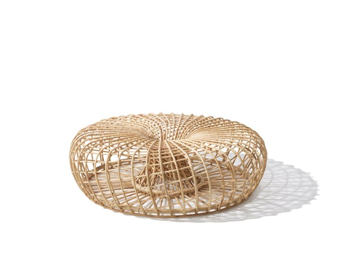 "**Nest footstool** Put your feet up this Valentine's Day.This multi-functional piece by UK boutique furniture brand Nest can be used as a footstool or coffee table. With its sleek curved surfaces and natural rattan construction, it's an elegant addition to your living space. [specifiedstore.com](http://www.specifiedstore.com/furniture/nest-large-footstool|target=""_blank""