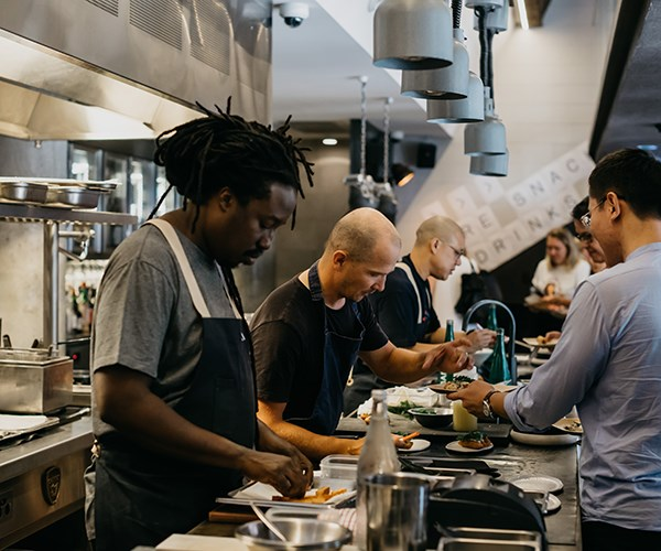 Paul Carmichael at One Plate for Two Good 2018 (Photo: Nikki To)