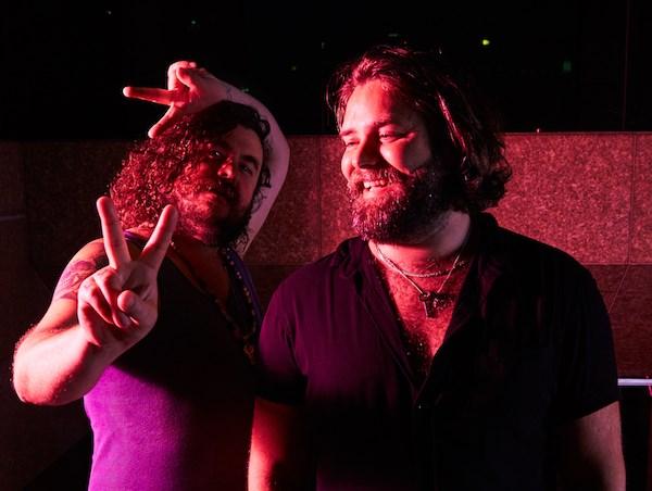 Jake Smyth and Kenny Graham at Mary's Underground (Photo: James Adams)