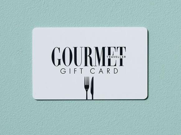 """**Gourmet Traveller Restaurant Gift Card** Impress the gourmand in your life with an unforgettable fine-dining experience. Our *Gourmet Traveller* Restaurant Gift Card will unlock access to more than 200 of Australia's top restaurants, with more added daily. Hand-selected by the *GT* team, you can rest assured your next booking is at a certified culinary destination. [gourmettravellergiftcard.com.au](https://gourmettravellergiftcard.com.au/bauer/web