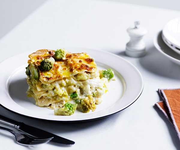 Sarah Cicolini's lasagne with romanesco