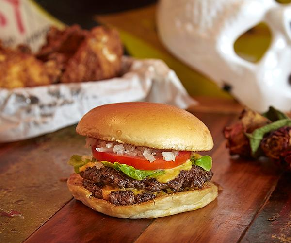 A double Mary's burger (Photo: Supplied)