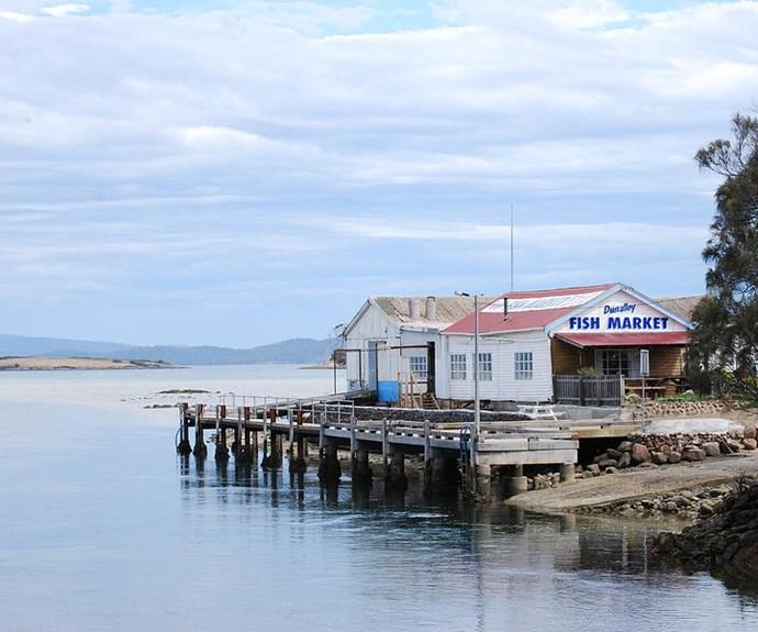 Dunalley Fish Market, Tas.