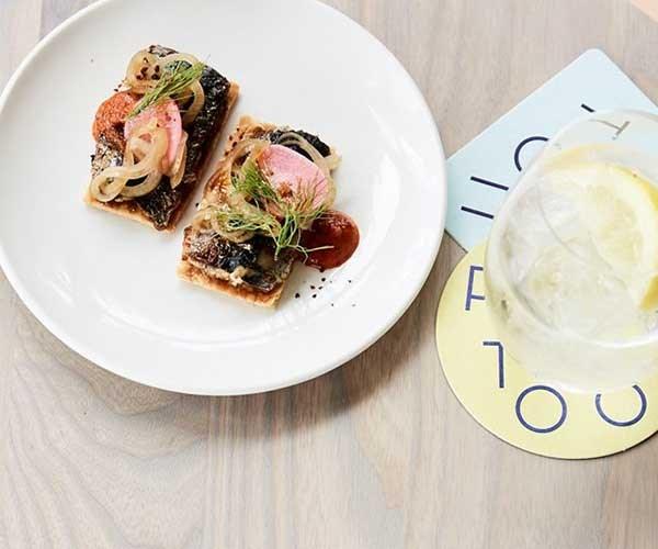 "[**Pontoon's grilled sardines and harissa**](https://www.gourmettraveller.com.au/recipes/chefs-recipes/pontoons-grilled-sardines-and-harissa-8553 target=""_blank"")"
