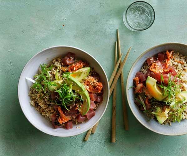 "[Tuna K-poke](http://www.gourmettraveller.com.au/recipes/browse-all/tuna-k-poke-12847|target=""_blank"")"