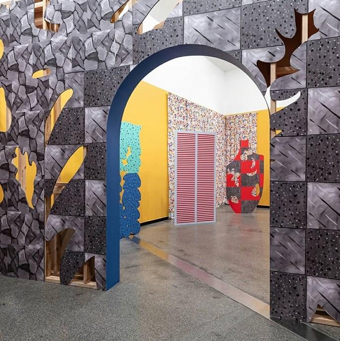 "Sol Calero, 'La puerta' 2018, installation view at ACCA. *Photo: Andrew Curtis via [Instagram/acca_melbourne](https://www.instagram.com/acca_melbourne/|target=""_blank""|rel=""nofollow"")*"