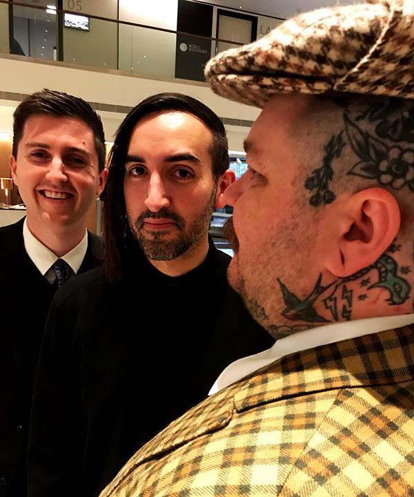 (L to R) Josh Niland, Jordan Kahn and Matty Matheson (Photo: Josh Niland)