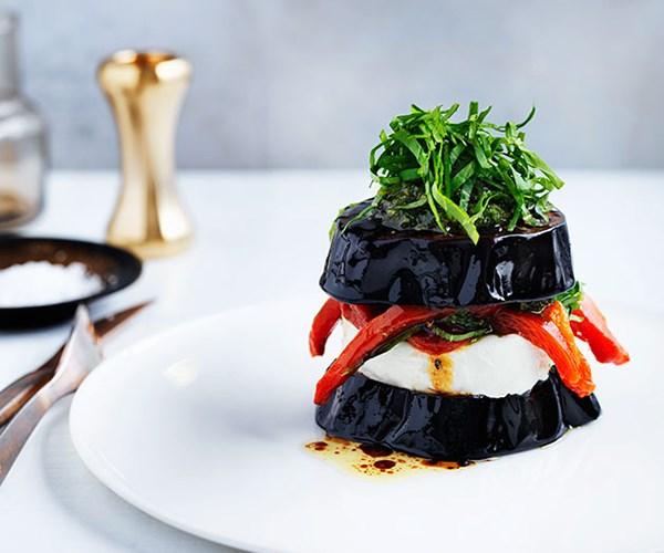"[Christine Manfield's eggplant sandwich](https://www.gourmettraveller.com.au/recipes/chefs-recipes/christine-manfields-eggplant-sandwich-8506 target=""_blank"")"