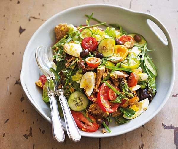 "[Damien Pignolet's salade Niçoise](http://www.gourmettraveller.com.au/recipes/chefs-recipes/damien-pignolets-salade-nicoise-7555 target=""_blank"")"