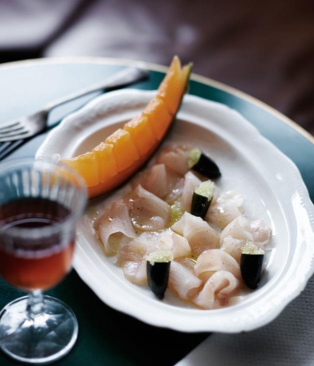 "**[10 William St's kingfish ham](https://www.gourmettraveller.com.au/recipes/chefs-recipes/kingfish-ham-8240|target=""_blank"")**"