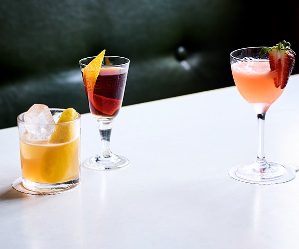 "[Club Monte](https://www.gourmettraveller.com.au/recipes/chefs-recipes/club-monte-16599|target=""_blank"")  Sherry, amaro and a dash of lemon come together in a satisfying cocktail.  [Sister Ray](https://www.gourmettraveller.com.au/recipes/chefs-recipes/sister-ray-cocktail-16601