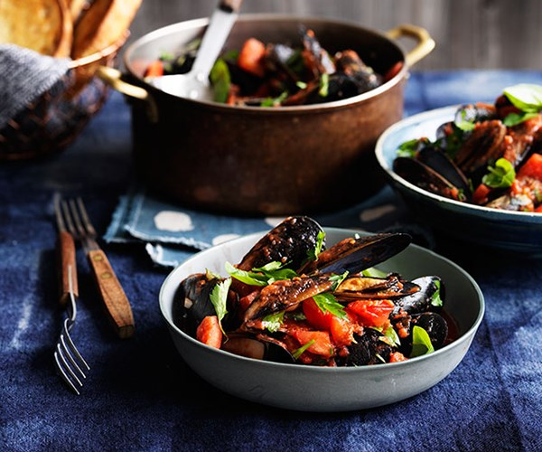 """[Bar Alto's mussels with chilli, garlic and white wine](http://www.gourmettraveller.com.au/recipes/chefs-recipes/mussels-with-chilli-garlic-and-white-wine-9229
