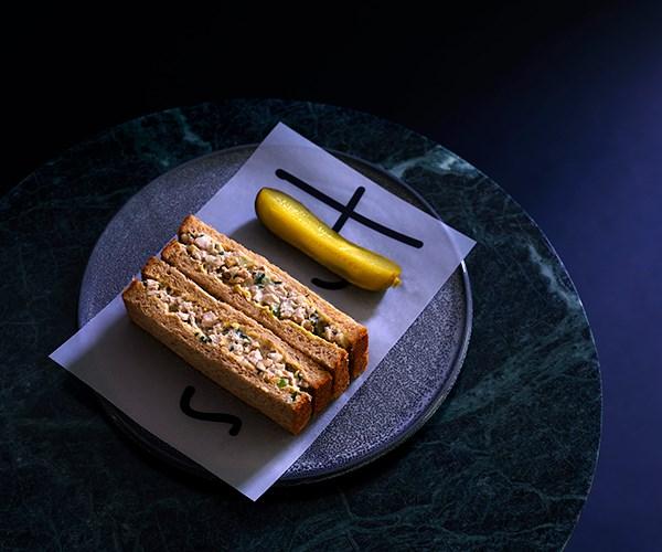 Chicken Waldorf finger sandwiches (Photo: Supplied)