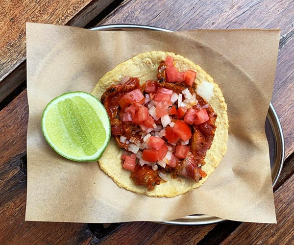 Taco King's steak taco (Photo: Supplied)