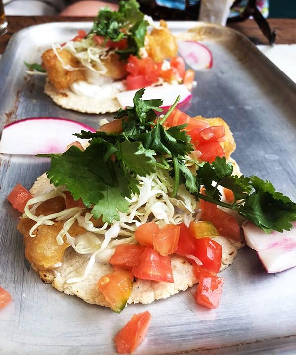 Taco King's fish taco (Photo: Supplied)
