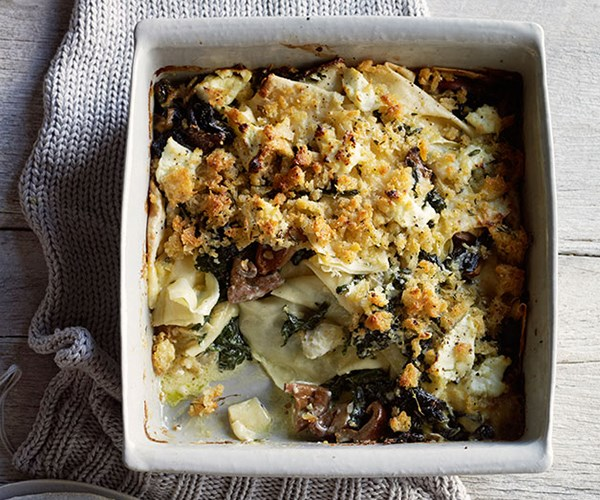 """**[Toasted-flour pasta with silverbeet](https://www.gourmettraveller.com.au/recipes/browse-all/toasted-flour-pasta-with-silverbeet-11730 target=""""_blank"""")**"""