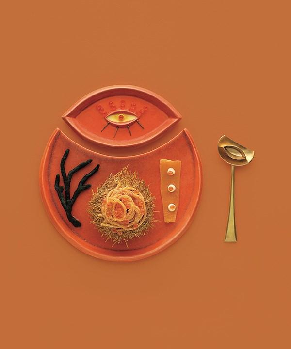Christine Manfield's sea-urchin spaghetti