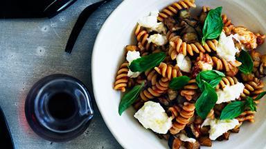 Meat-free pasta recipes that aren't basil pesto