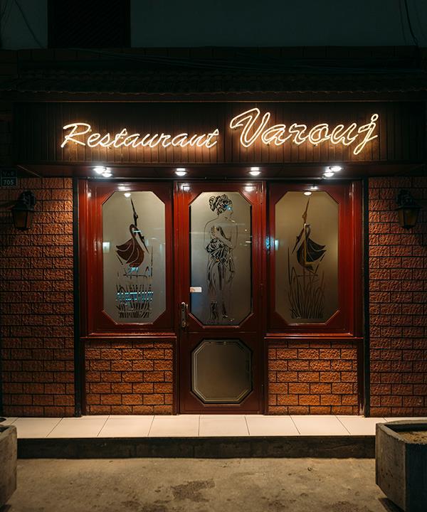 Outside Restaurant Varouj