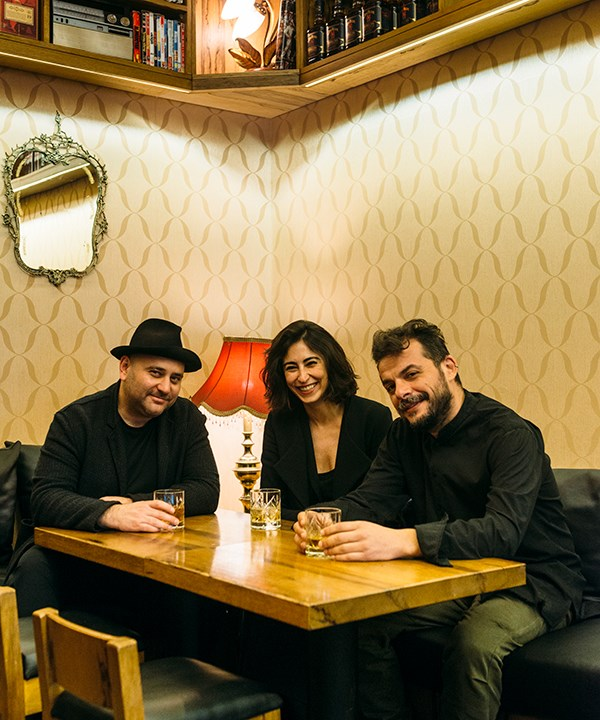The owners of Molo (from left) Raed Yassin, Sarah Nohra and Bassem Breche