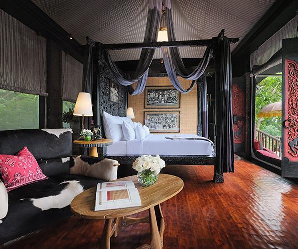 *A bedroom at Capella Ubud*