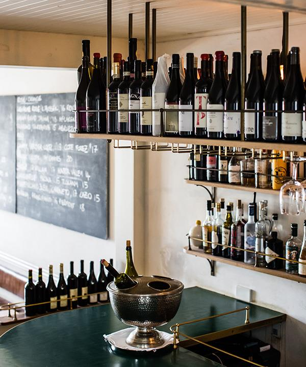 The wine bar at 10 William St
