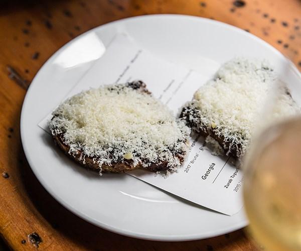 "Toast with Japanese ""Vegemite"""