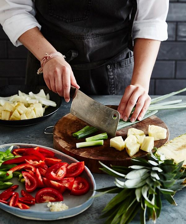 Step 3: Prepare your vegetables