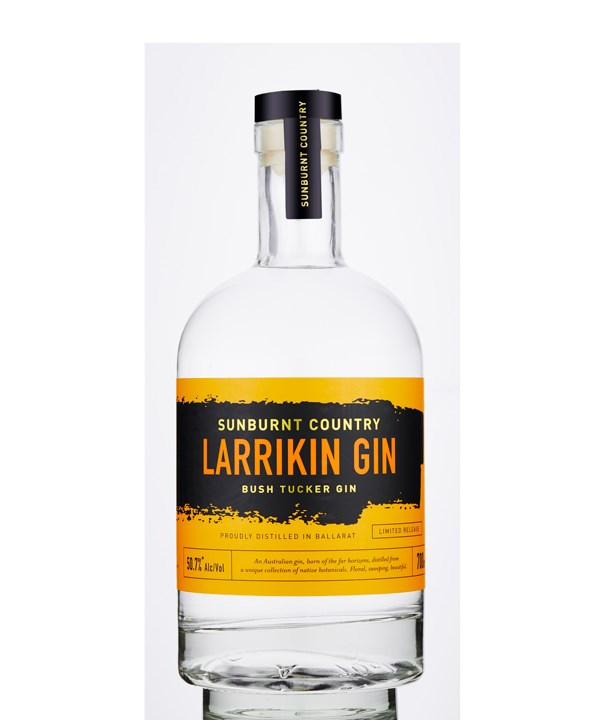 Larrikin Gin Sunburnt Country Bush Tucker Gin (Photo: Chris Jansen)