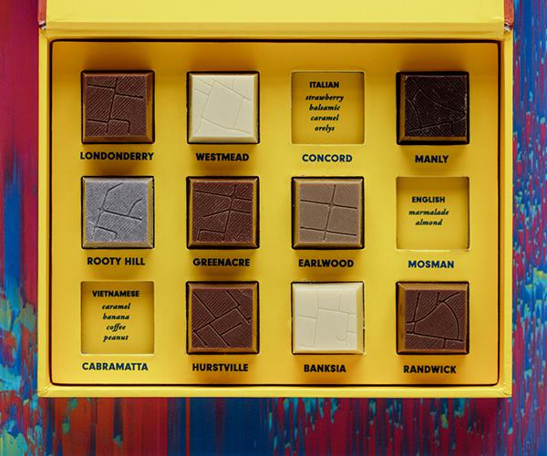 The chocolates from the Not a Single Origin project