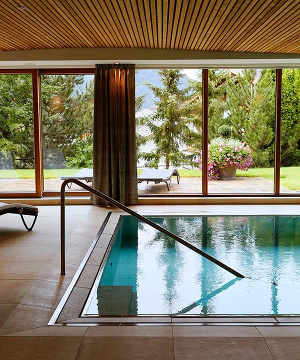 Hotel Tannenhof's pool.