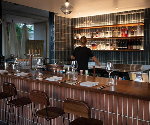 The bar at Pipit.