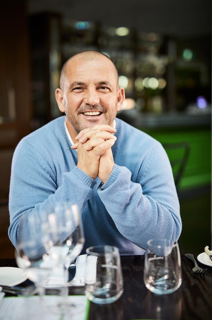 Guillaume Brahimi at Bistro Guillaume Melbourne