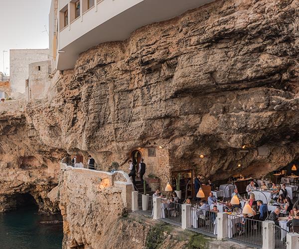 Grotta Palazzese, Polignano a Mare, Puglia.