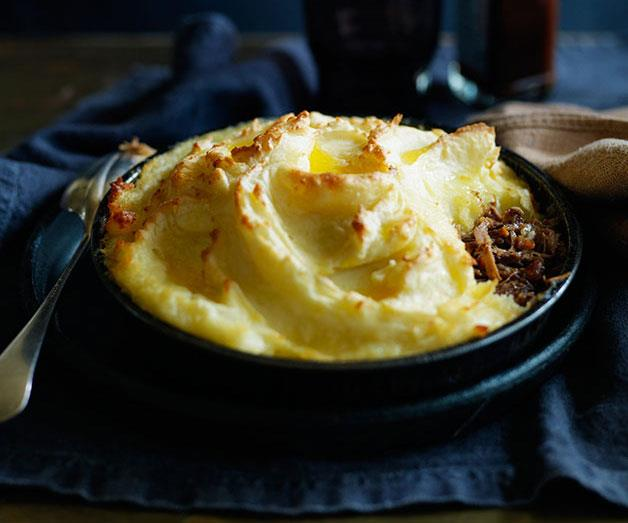 "**[Shepherd's pie with lamb shoulder](https://www.gourmettraveller.com.au/recipes/browse-all/shepherds-pie-with-lamb-shoulder-12023|target=""_blank"")**"