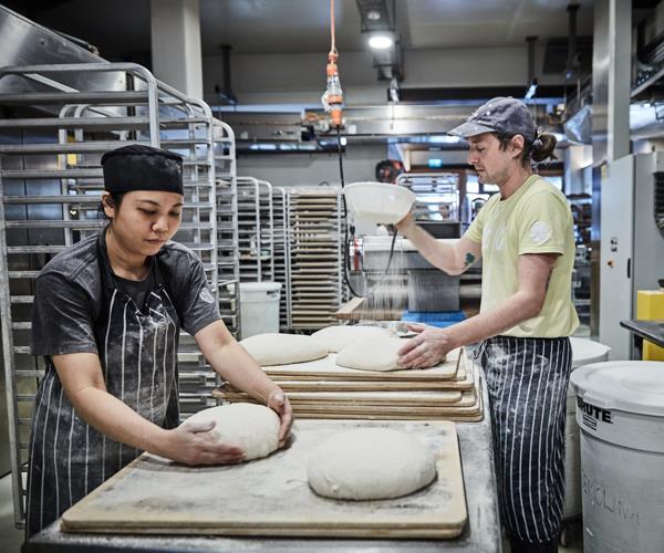 *Bakers Linda and Alberto Dal Bosco.*