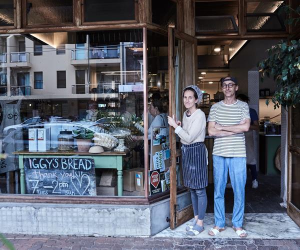 *Iggy's Bread owners Ludmilla and Igor Ivanovic.*